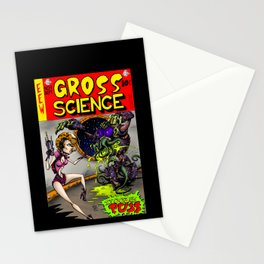 Gross Science Stationery Cards