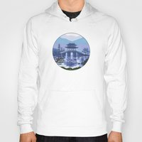 japanese Hoodies featuring Japanese landscape by Savousepate