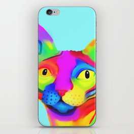 Funky Sphynx iPhone Skin