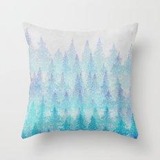 Mountain Hike Throw Pillow