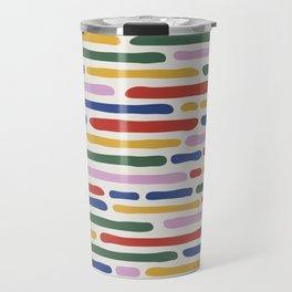 Seamless Summer Pattern Travel Mug