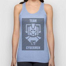 Doctor Who Team Cybermen Unisex Tank Top