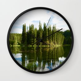 Beaver Pond Wall Clock