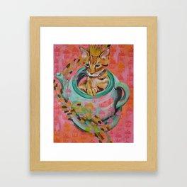 Cupcake King Framed Art Print