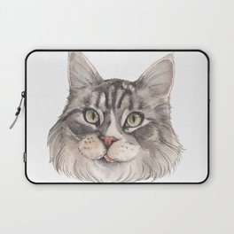 Normie the Cat - artist Ellie Hoult Laptop Sleeve
