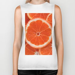 Orange Biker Tank