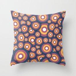 Circle World Throw Pillow