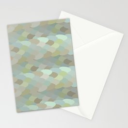 Dragon leaf scales Stationery Cards