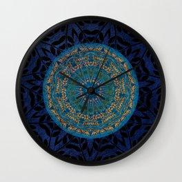 Ornament Pattern Mandala Wall Clock