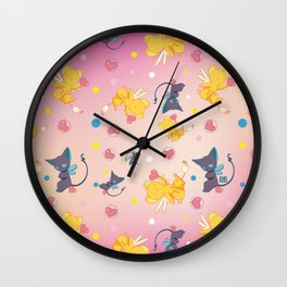 Spinell & Kerochan Pattern Wall Clock