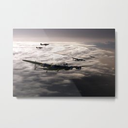 Hurricane Guardian Metal Print