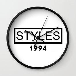 STYLES 1994 Wall Clock