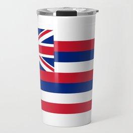 Flag of Hawaii, High Quality image Travel Mug
