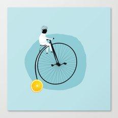 My bike Canvas Print
