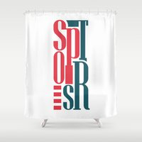 sports Shower Curtains featuring Sports by Sabirg
