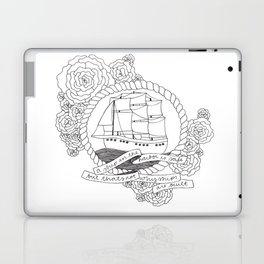 A Ship in the Harbor Laptop & iPad Skin