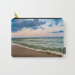 Sunset Crashing In Carry-All Pouch
