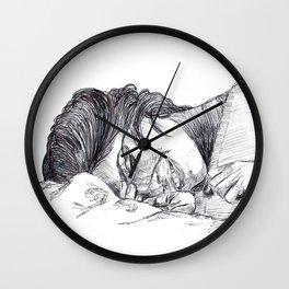 Autumn's comfort Wall Clock