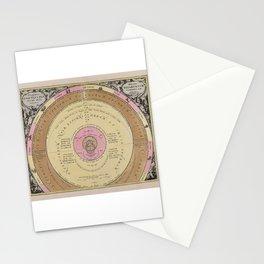 Planetarum Cursus Et Altitudines Ob Oculos Ponens Stationery Cards