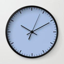 Little marks azul Wall Clock