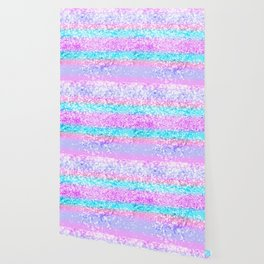 Unicorn Girls Glitter #15 #shiny #decor #art #society6 Wallpaper