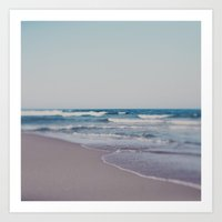 ombre Art Prints featuring Ombre  by Alicia Bock