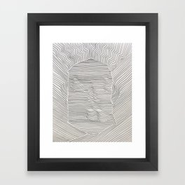 Line Man I Am Framed Art Print