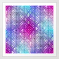 grid Art Prints featuring Grid by Christine baessler