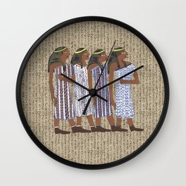 ancient egyptians Wall Clock