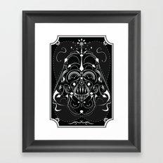 Darth Vader on Acid Framed Art Print