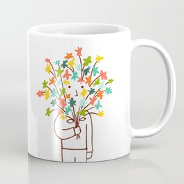 I bring flowers Coffee Mug
