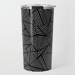 Abstraction Linear Travel Mug