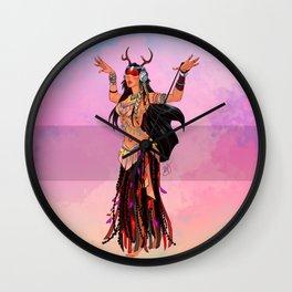 Oriental Dancer - Pocahontas Wall Clock
