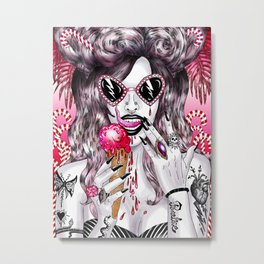 Gothic Candyland Metal Print