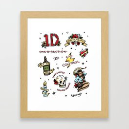 Tattoo You Framed Art Print