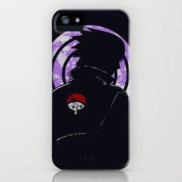 Shadow of Uchiha Sasuke iPhone Case