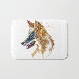 Coyote Head Bath Mat