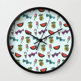 summer fun Wall Clock