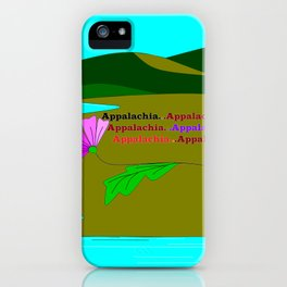 My Colorful and True Ode to Beautiful Appalachia! iPhone Case