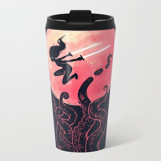 Kraken Metal Travel Mug