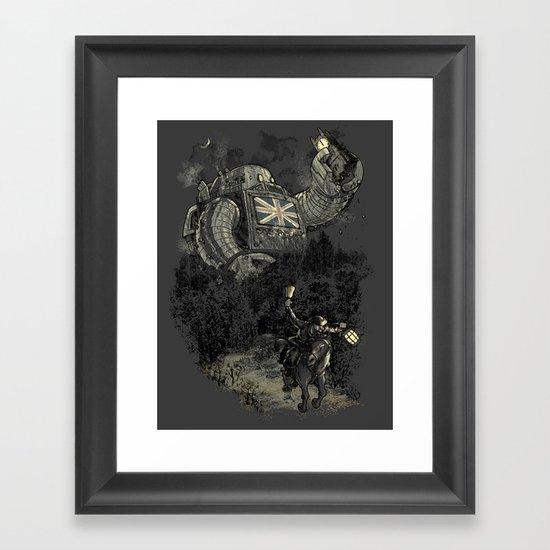 Twenty if by Giant Robot Framed Art Print
