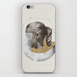 Constellation Girl iPhone Skin