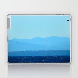 Blue on blue Laptop & iPad Skin