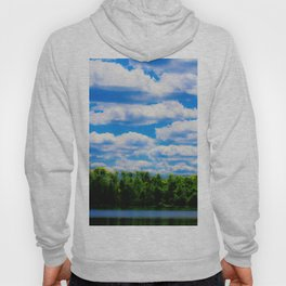 Clouds Over the Lake Hoody