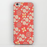 death cab for cutie iPhone & iPod Skins featuring Cutie by Pink Berry Patterns