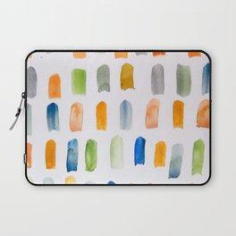 Watercolor Brush Strokes Laptop Sleeve