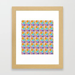 Sunny Shapes Framed Art Print