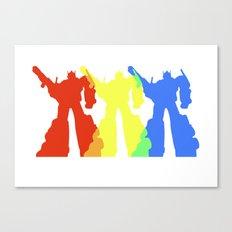 Optimus Prime Colors Canvas Print