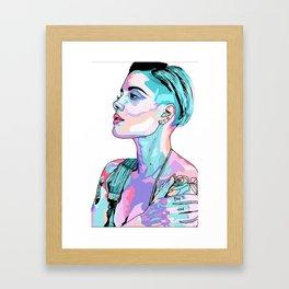 Halsey Framed Art Print