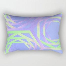 Geometric unicorn colors Rectangular Pillow